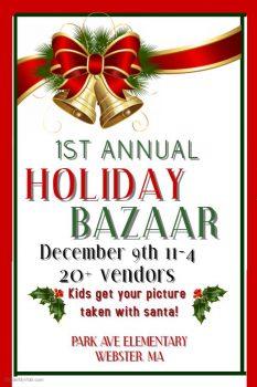 Webster Holiday Bazaar @ Park Ave. Elementary School