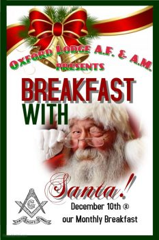 Oxford Lodge Breakfast With Santa