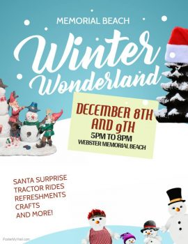 Webster Winter Wonderland @ Memorial Beach