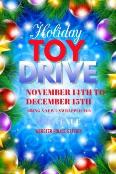 Webster Police Toy Drive @ Webster Police Station