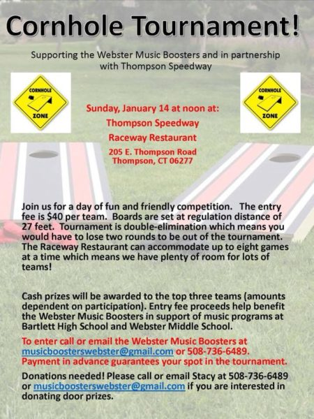 Cornhole Tournament @ Thompson Speedway