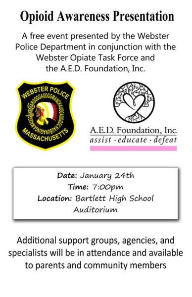 Opioid Awareness Presentation @ Bartlett High School Auditorium