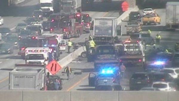 Charlton Residents Injured In Chain Reaction MassPike Crash