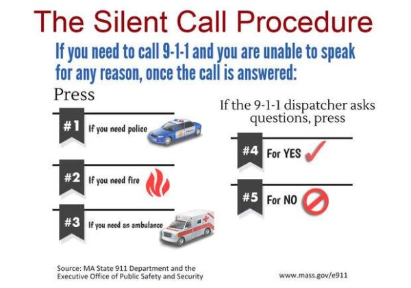 Charlton Police Remind Residents of 'Silent 9-1-1' – THE