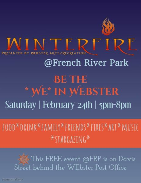 Webster Winterfire @ French River Park