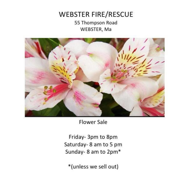 Easter Flower Sale @ Webster Fire Department