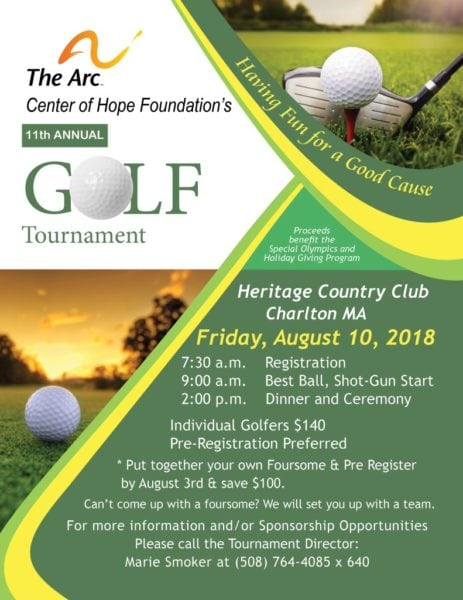 Golf Tournament @ Heritage Country Club