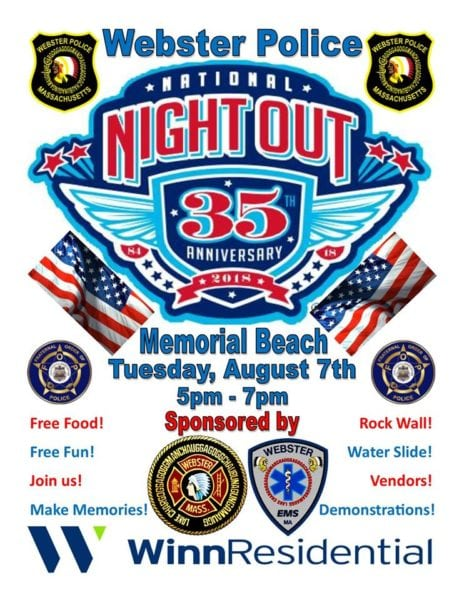 National Night Out @ Memorial Beach