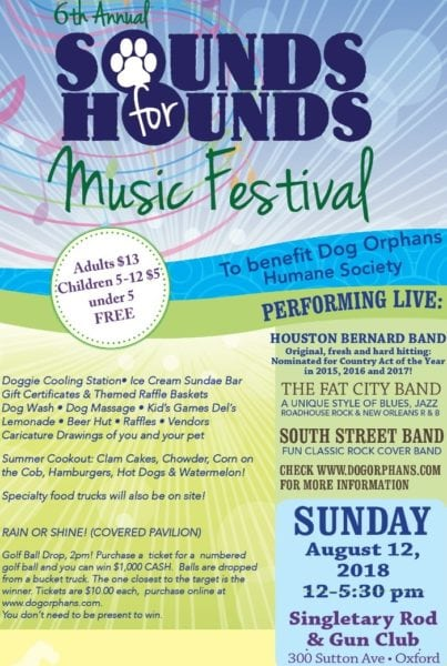 Sounds For Hounds @ Singletary Rod & Gun Club
