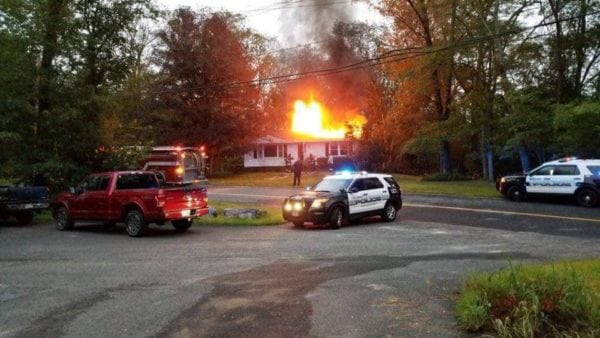 Dudley Fire Department/Rob & Jen Fitzgerald
