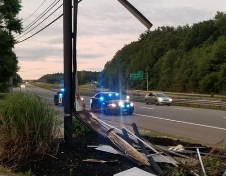 Overnight Crash On Route 146 In Sutton – THE LAKE 940