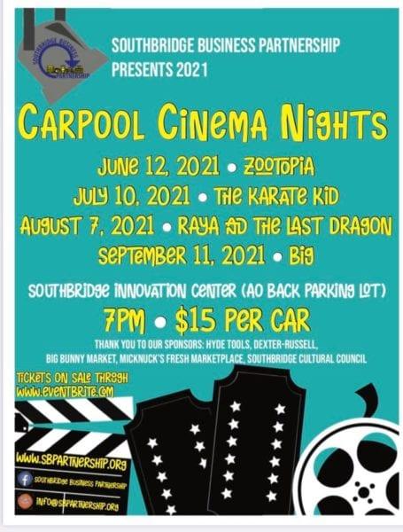 Carpool Cinema Night @ Southbridge Innovation Center