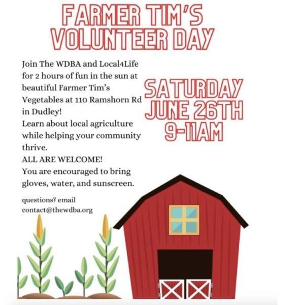 Volunteer Day @ Farmer Tim's