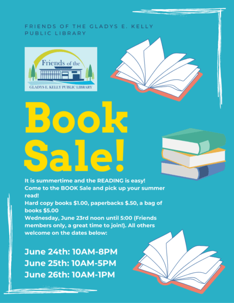 Book Sale @ Gladys E. Kelly Library
