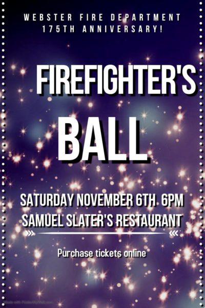 Firefighter's Ball @ Samuel Slater's Restaurant